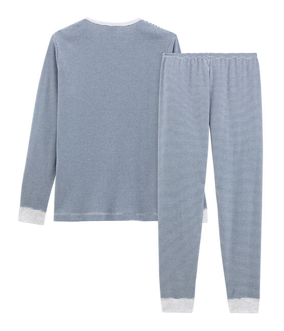 Boys' Pyjamas Major blue / Marshmallow white