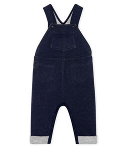 Baby Boys' Long Fleece Dungarees