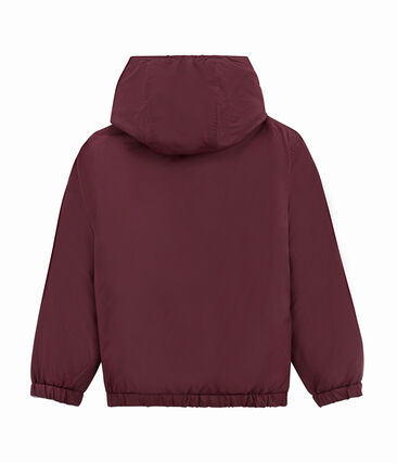 Child's warm, reversible windbreaker jacket Ogre red