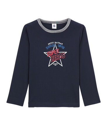 Little boy's long sleeved T-shirt