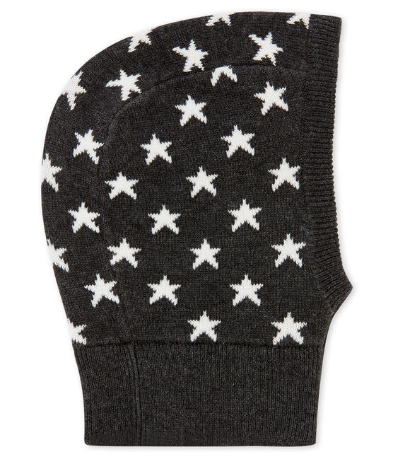 Unisex Baby Balaclava City black / Marshmallow white