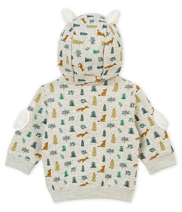 Baby boy's hooded print sweatshirt