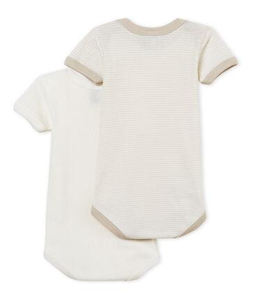 Baby Boys' Short-Sleeved Bodysuit - Set of 2 . set