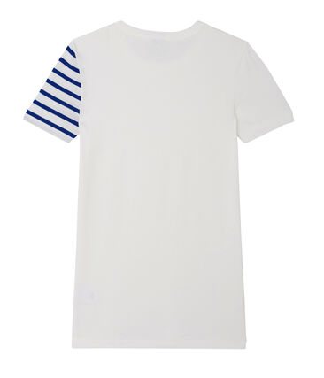 Women's decorative original rib T-shirt