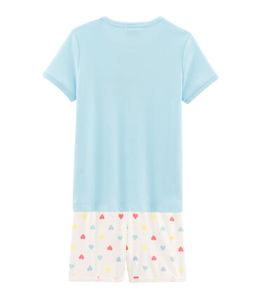 Girls' Ribbed Short Pyjamas null
