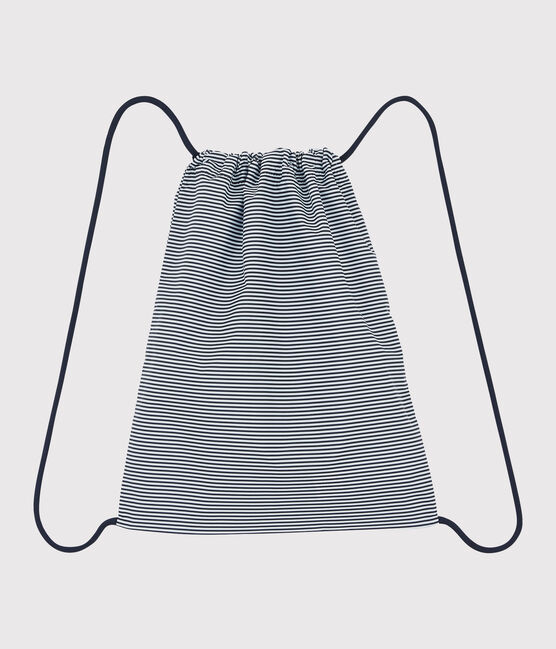 Girls'/Boys' Backpack Smoking blue / Marshmallow white