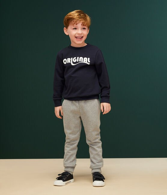 Boys' Sweatshirt Smoking blue