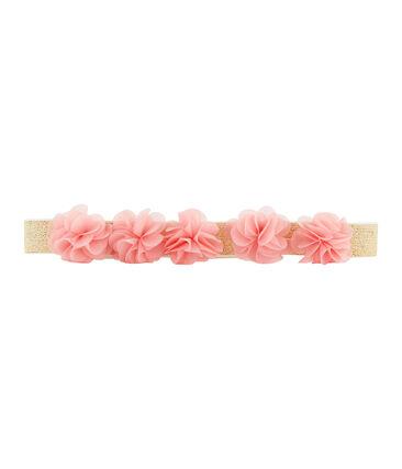 Girls' belt Marshmallow white
