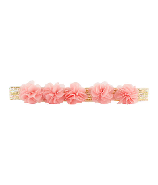 Girls' belt Marshmallow white