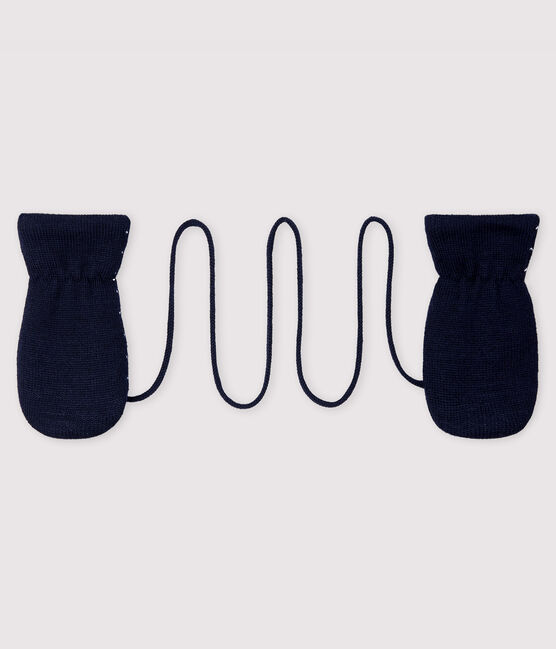 Baby's unisex fleece-lined mittens SMOKING