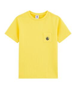 Boys' T-Shirt Shine yellow