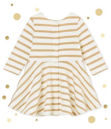 Baby girl's gold sailor dress