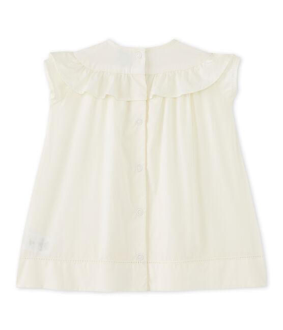 Baby girl's formal dress Lait white