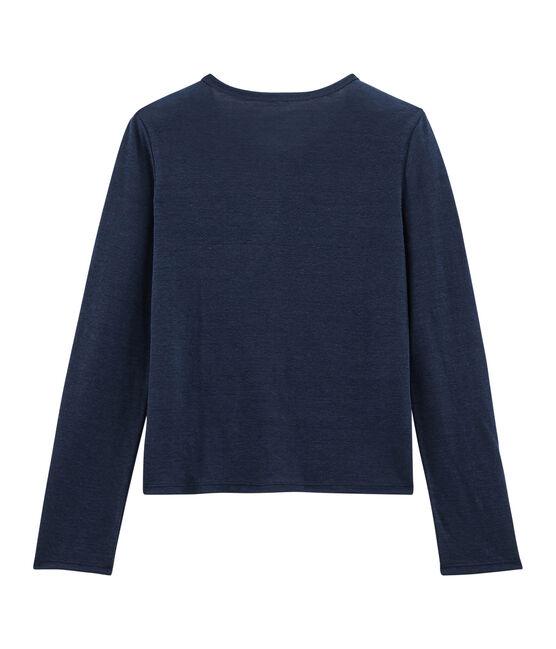 Women's Cardigan Haddock blue