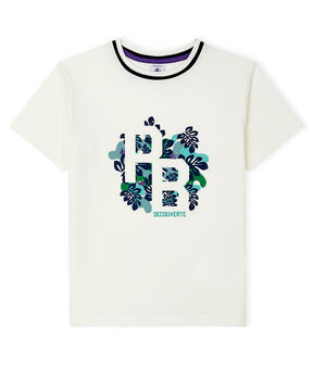 Boys' T-Shirt Marshmallow white