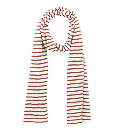Women's iridescent linen scarf