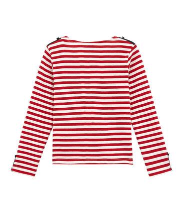 Girl's new-look breton top