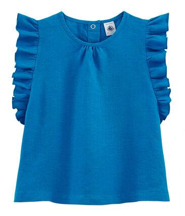 Short-sleeved Linen Blouse