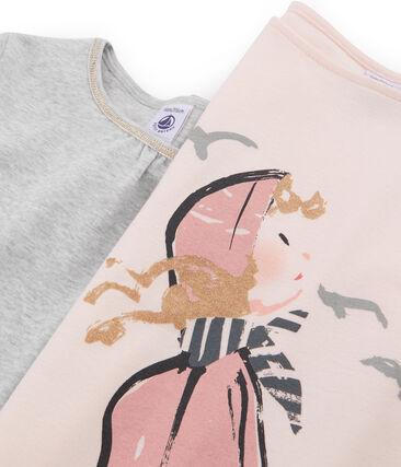 Girls' T-Shirt - 2-Piece Set . set