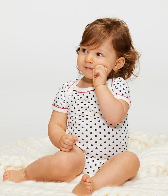 Baby Girls' Short-Sleeved Bodysuit - 3-Piece Set . set
