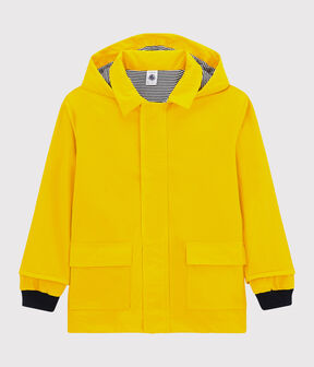 Boys'/Girls' Iconic Raincoat Jaune yellow