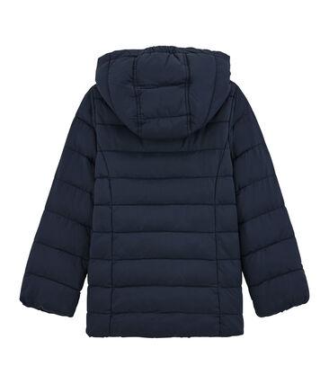 Girls' Down Coat Smoking blue