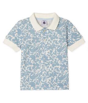 Baby Boys' Print Polo Shirt Marshmallow white / Multico white