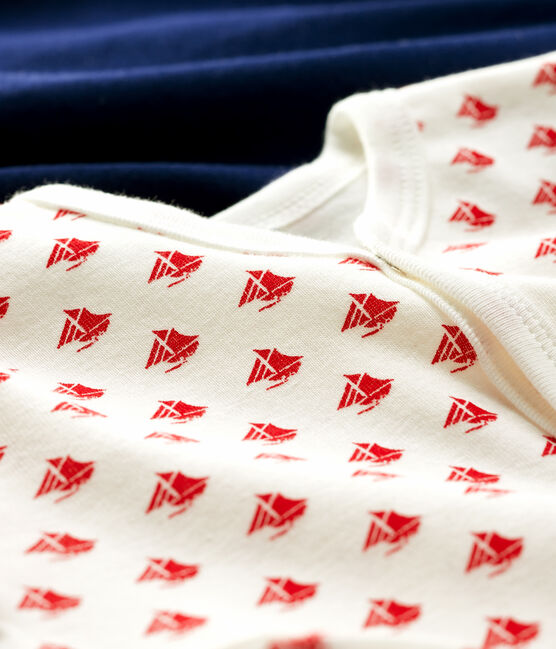 Baby Boys' Ribbed Sleepsuit - 2-Pack . set