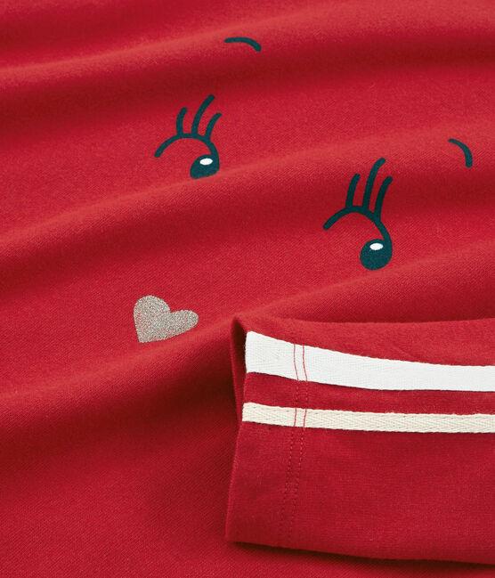 Long-sleeved T-shirt Terkuit red