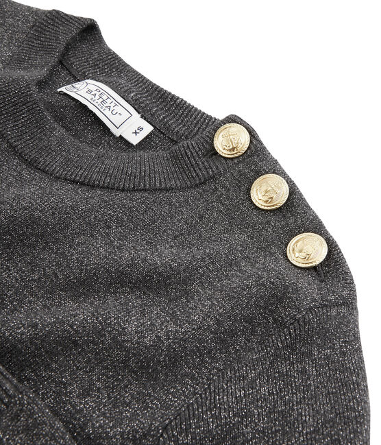 Women's Pullover City black / Argent grey