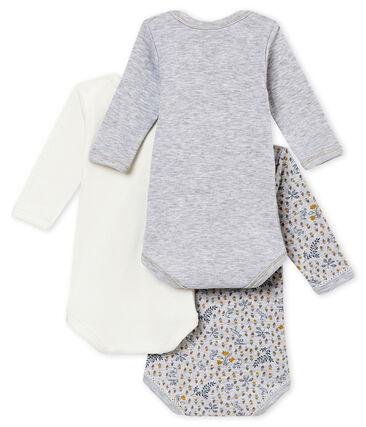 Baby girl's long sleeved body trio
