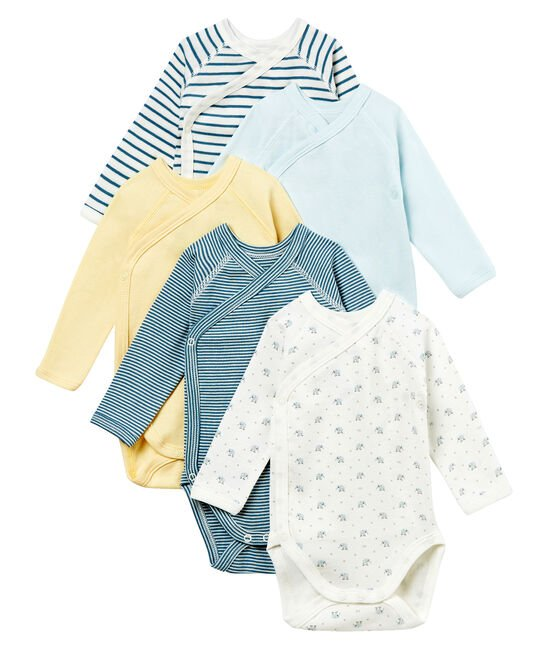 Baby Boys' Newborn Bodysuit - Set of 5 . set