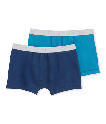 Set of 2 boy's Lycra jersey boxers - Previous collection . set