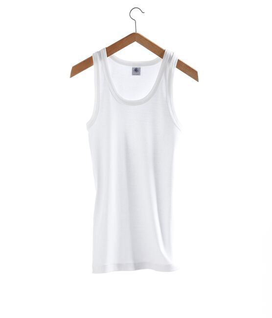 Women's Iconic Vest Ecume white