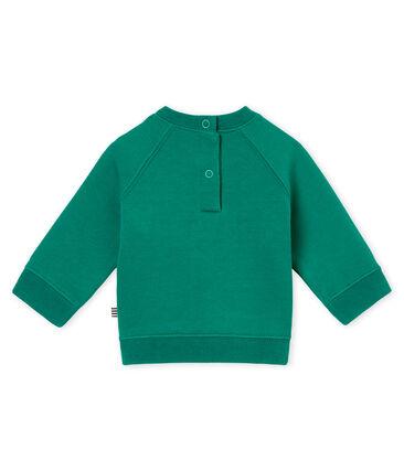 Baby boy's sweatshirt Pivert green