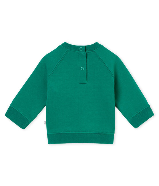 Baby boy's sweatshirt Pivert green