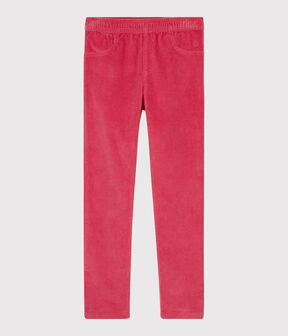 Girls' Velvet Trousers POPPY