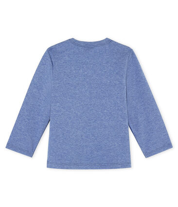 Baby boys' long-sleeved T-Shirt Captain Chine blue