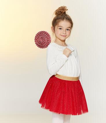 Girls' Tulle Skirt Terkuit red / Or yellow