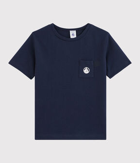 Boys' T-Shirt Smoking blue