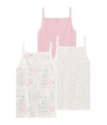Girls' Strappy Top - 3-Piece Set . set