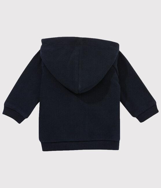 Baby Boys' Zip-Up Fleece Hoody Abysse blue