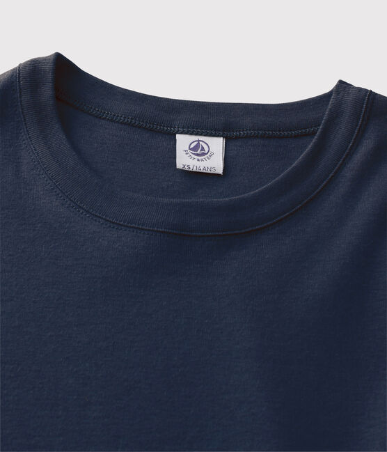 Women's Iconic Round Neck T-Shirt Smoking blue