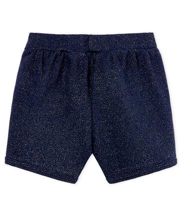 Baby girls' shiny shorts