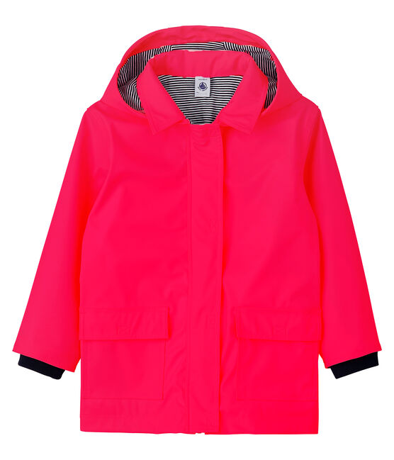 Unisex Children's Raincoat Signal red