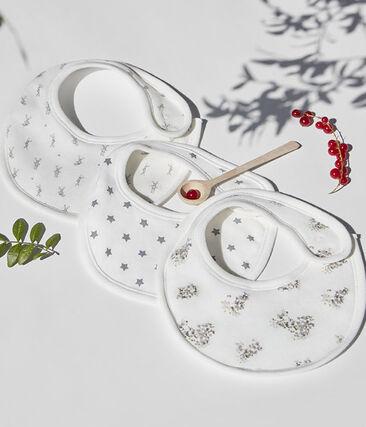 Marcella bib Marshmallow white / Multico white