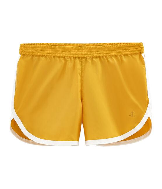 Girls' Shorts Boudor yellow