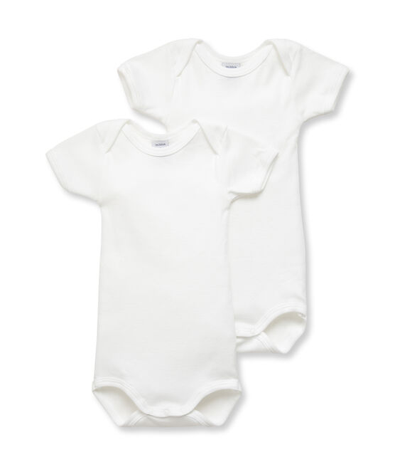Unisex Baby's Short-Sleeved Bodysuit - 2-Piece Set . set