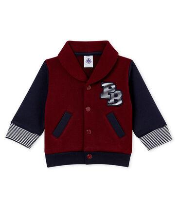 Baby boy's cotton sweatshirt cardigan