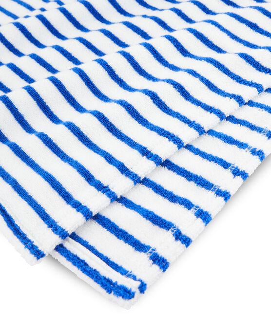Babies' Unisex Hooded Beach Poncho Surf blue